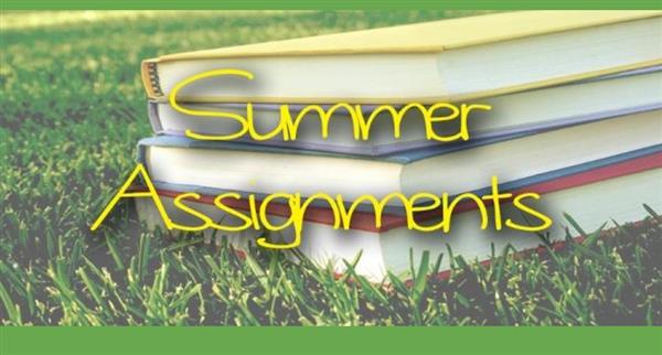 Summer HW 6, 7, 8 and Information for Incoming Grade 6